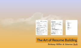 The Art of Resume Writing