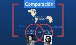 Fulgencio Batista y Che Guevara
