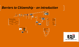 Barriers to Citizenship: Introduction