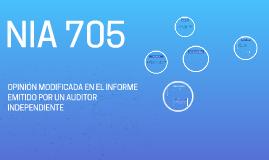 Copy of NIA 705 Opinión Modificada
