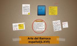 Arte del Barroco español(S.XVII)