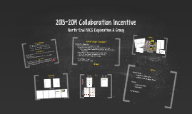 2013-2014 Collaboration Incentive