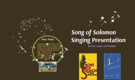 Singing Presentation