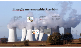 Energia no renovable: Carbón
