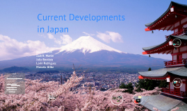 Copy of Current Development in Japan