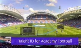 Copy of Talent I.D