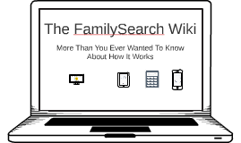 FamilySearch Wiki — Coding