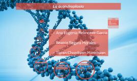 Tema 15: Bases genéticas de enfermedades monogénicas: acondroplasia