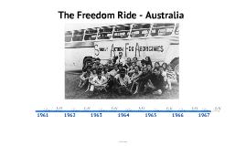 Freedom Rides Australia - Timeline
