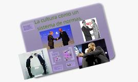 La cultura como un sistema de normas
