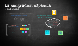 Inmigracion espanol