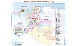 Colonia-Nueva Granada /Virreinatos.