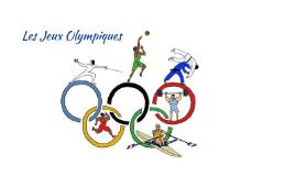 Les jeux Olypiques