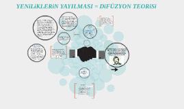 Copy of YENiLiKLERiN YAYILMASI = DiFiZYON TEORiSi