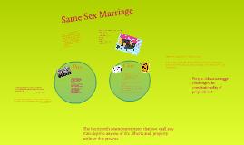 CBA- Same Sex Marriage