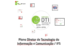 PDTIC 2014 - 2019