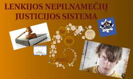 Lenkijos nepilnamečių justicijos sistema