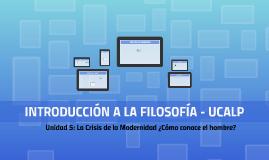 INTRODUCCIÓN A LA FILOSOFÍA - UCALP