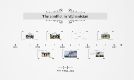 The conflict in Afghanistan