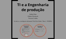 Copy of Engenharia de produção