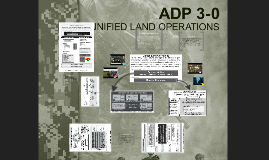 MISC 402 Unified Land Operations