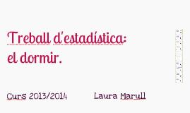 Treball Estadísitca : Laura Marull