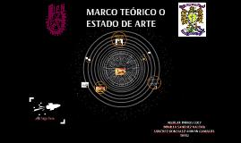 MARCO TEORICO O ESTADO DE ARTE