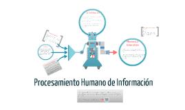 Procesamiento Humano de Información