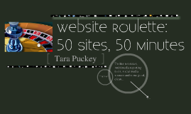 Website Roulette