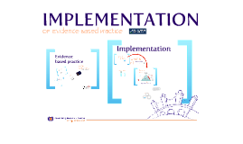 Implementation: Of Evidence Based Practice