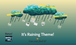 It's Raining Theme!