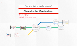 So, you want to graduate?