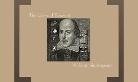 Copy of The Life and Times of William Shakespeare
