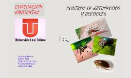 Copy of CONTROL DE ARTROPODOS Y ROEDORES