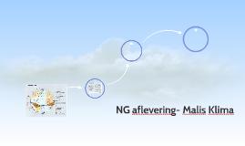 NG aflevering- Malis Klima