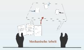 mechanische Arbeit