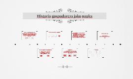 Historia gospodarcza jako nauka