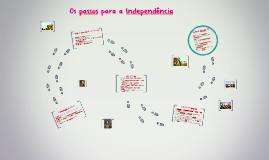 Os passos do Brasil para alcançar sua Independência