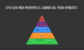 SITIO WEB PARA PROMOVER EL CUIDADO DEL MEDIO AMBIENTE