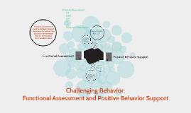 Challenging Behavior: