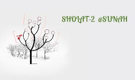 SHOLAT SHOLAT SUNAH