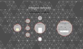 Integral definida.