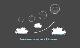 Reacciones Adversas a Fármacos.