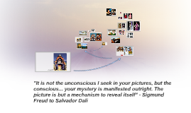 """It is not the unconscious I seek in your pictures, the the"