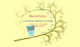 Materiales y Técnicas Básicas de Dibujo