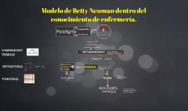Modelo de Betty Neuman