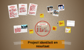 Project identiteit en resultaat