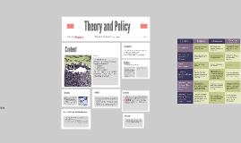 Theory and Policy