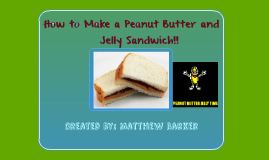 How to Make a Peanut Butter Jelly Sandwich!!