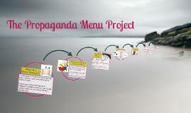 The Propaganda Menu Projects